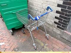 Tesco Trolley (TheTransitCamera) Tags: uxbridge england unitedkingdom uk greatbritian town tesco trolley supermarket grocery store retail shopping highstreet cart basket