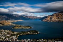 Queenstown New Zealand (Doreen Bequary) Tags: d500 newzealand queenstown mountains lake wakatipu remarkables landscape water mountain sea leefilters bigstopper