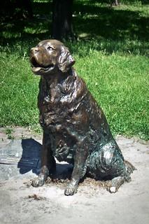 smiling statue :)
