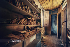So many books, so little time (Rui Almeida Photography) Tags: urbex urban exploration abandoned ruins house dark light shadow alone portugalurbex hope darkness atmosphere decaying ashes dust decay destiny strangephotography spooky wallpaper wicked grungy creepy grunge shadows doorslightframe wall urbanexplorer urbanexploration conceptual cobwebs derelict abandonedchurch retro vintage architecture wwwruialmeidaphotographycom flickrcomruialmeida urbexportugal ruialmeida deadworld