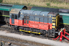 Maritime - 26/03/17 (davekirwinphotography (Railway)) Tags: maritime shunter 08 railway train freightliner hire hunslet