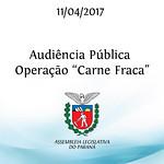 Audiência Pública sobre a Operação