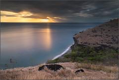 Mystic sunset (Jean-Michel Raggioli) Tags: martinique sunset caribbean cliffs seascape beach lecarbet