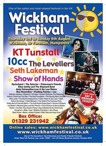wickham festival 2017