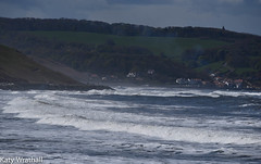 Sandsend (Katy Wrathall) Tags: 2017 april england northyorkshire sandsend spring whitby sea waves