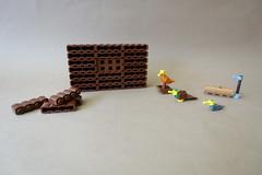 Behind the scenes (-Balbo-) Tags: lego bird duck animals technique balbo