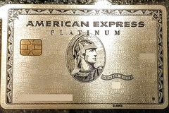American Express Platinum Card with New Metal Material and Design (Evan Didier) Tags: amex americanexpress creditcard platinum metal card 2017 silver