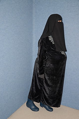 Fat Belly (Buses,Trains and Fetish) Tags: fur belly hijab burka chador niqab girl fat