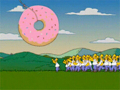 New trending GIF on Giphy (I AM THE VIDEOGRAPHER) Tags: ifttt giphy homer simpson reaction simpsons season 14 treehouse horror donut xiii clone