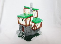 The Jester's Home (SoccerSocks) Tags: lego medieval tudor style back time