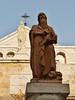 Statue of Hieronymus & Maria in Bethlehem (JERRY TAHA PHOTOGRAPHY) Tags: israel palestina bethlehem churchofnativity hieronymus maria mary jerome statue geboortekerk ישראל فلسطين بيت لحم