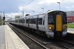 379007 @ Stansted Airport (ianjpoole) Tags: greater anglia 379007 379002 working 1b74 london liverpool street stansted airport