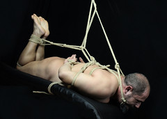 m- table (shibarigarraf) Tags: shibari bondage kinbaku shibarigarraf male rope bound