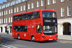 LJ17 WSZ (MV38230) Tower Transit (hotspur_star) Tags: londontransport londonbuses londonbus londonbuses2017 mcvvolvoevoseti tfl transportforlondon hybridbus hybridtechnology busscene2017 doubledeck towertransit lj17wsz 13 mv38230