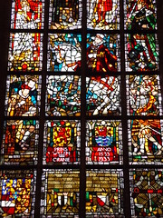 Prince William Window, Nieuwe Kerk, Delft, Netherlands, 13 April 2017 (AndrewDixon2812) Tags: delft zuidholland holland netherlands prince william orange nieuwe kerk new church prins willem oranje stained glass window