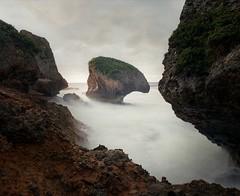 Punta Borinquen (GOJR.) Tags: mediumformat 120 analog film aguadilla beach puertorico seascape leebigstopper kodakportra400 mamiyasekorc50mmf45 mamiyarb67pros