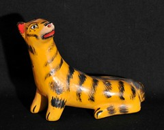 Mexican Tiger Guerrero (Teyacapan) Tags: tigers tigre mexico guerrero nahua temalacatzingo animals artesanias crafts folkart
