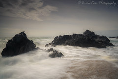 Rhosneigr Beach (.Brian Kerr Photography.) Tags: rhosneigr anglesey wales beach seascape rocks seas seascapephotography landscapephotography landscapes clouds skies sony a7rii outdoor outdoorphotography nature naturallandscape natural briankerrphotography briankerrphoto waves bay tidal surge sea