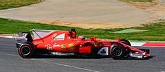 Ferrari  SF17-JB / Kimi Räikkönen / FIN / Scuderia Ferrari (Renzopaso) Tags: formula one test days 2017 circuit de barcelona ferrari sf17jb kimi räikkönen fin scuderia