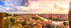 Verona (pure:passion:photography) Tags: verona venetien italy italien italia stadtlandschaft cityscape city panorama sunset sundown sunrise fluss water colourful sunlight purepassionphotography ausblick sonya99 sonyalpha99 zeiss2470