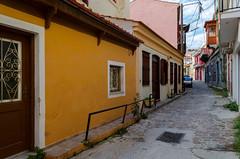 Mytilene,Greece (cameoblue) Tags: lesvos window old house mytilene wall greece street door