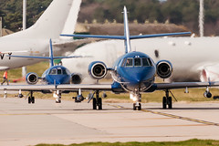 Dassault Falcon 20C (Przemyslaw Burdzinski) Tags: dassault falcon 20c cobham aviation services gfras raf lossiemouth egqs lmo joint warrior 171 04042017