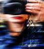 Self - portrait (joanna reich) Tags: selfportrait colour autoportrait photograohy portrait woman blure motion