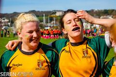 2017:03:25 14:05:44 (serenbangor) Tags: 2017 aberystwyth aberystwythuniversity bangoruniversity seren studentsunion undebbangor varsity rugby rugbyunion sport womens
