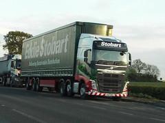 KU17WXG (47604) Tags: volvo ku17wxg eddie stobart lorry truck phoebe ellen a5