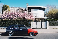 Mk2 Golf (FRAMEND) Tags: mk2 golf vw volkswagen mk2golf stance stanced framend fitment lowered low static rota bm8 rotabm8 shakotan japan midcentury architecture