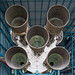 Saturn V exhaust