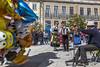 Vila Praia de Âncora em Flor, Portugal (kike.matas) Tags: canon canoneos6d canonef1635f28liiusm vilapraiadeâncora portugal vilapraiaemflor fiestaspopulares globos plaza folklore musica danza lightroom4