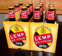 Fresh (I think) LEMP Beer May 2013 (gregg_koenig) Tags: beer saint st louis lion german lager lemp