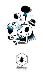 Sans-titre-1 (Alex iumsa) Tags: tattoo head flash pipe skullhead nuage eclair vanite flashset