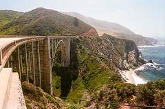 Bixby Canyon Bridge (bior) Tags: bridge film monterey kodak bigsur 35mmfilm carmel 24mm 135 bixby bixbybridge kodakfilm ektar bixbycreek bixbycreekbridge canoneoselaniie kodakektar ektar100 bixbycanyon bixbycanyonbridge ef24mmf14liiusm