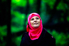 Lauren (Anne Bloom/one love) Tags: portrait green london forest spring feminine hijab