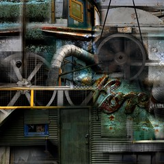 Swingshift (John Friedman) Tags: urban abstract industrial sureal madeinoregon johnfriedmanart