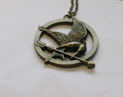 mockingjay (lina fjstad) Tags: necklace pin games hunger everdeen katniss mockingjay