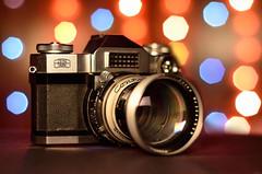 419 - Vintage Zeiss Ikon Contaflex Synchro Compur 35mm SLR Camera (ArvinderSP) Tags: camera slr 35mm vintage lens 50mm zeissikon synchrocompur nikond7000 mygearandme arvindersp