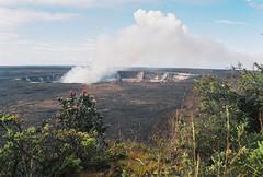 Kīlauea (Procrastixote) Tags: 35mm canon island eos rebel volcano hawaii big earth g smoke steam crater kilauea active plume processes