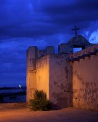 summer evening in Zuni (DarinAZ) Tags: new usa de mexico pueblo spanish mission guadalupe chuch zuni nuestra seora