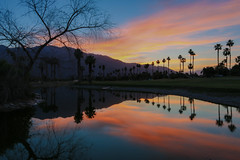 Palm Springs Sunset (Bryant Nix) Tags: sunset reflection clouds palmsprings palmspringscalifornia pinkclouds