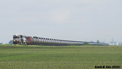 NS 8118, MGA 8025, NS 1001 lead BNSF U-STNMIX oil train @ Litchfield, IL (CQDX018) Tags: santa heritage burlington train illinois ns norfolk trains southern oil etc fe northern bnsf westbound monongahela 1001 litchfield subdivision 8025 railfanning beardstown railfans 8118 sd70ace es44ac walshville cqdx018 ustnmix