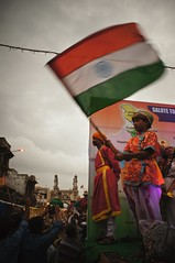 # 225 Happy Independence Day (Rajesh_India) Tags: india festival festive colorful flag sony traditional traditions annual procession colourful tradition hyderabad mythology oldcity charminar indianflag bonalu project365 2013 incredibleindia