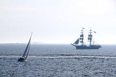 Sailing (jptoivon) Tags: sea summer mist fog suomi boat helsinki nikon sailing baltic sail sailingship 2013 d300s