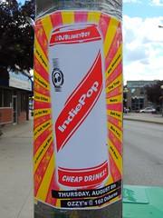 IndiePop (knightbefore_99) Tags: winnipeg manitoba canada city music pop indiepop art mb poster street osborne village cool red stripe mygearandme rasta great