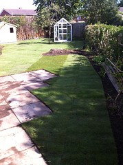 """Turfing - finished result just after being layed • <a style=""""font-size:0.8em;"""" href=""""http://www.flickr.com/photos/72072497@N07/9502984712/"""" target=""""_blank"""">View on Flickr</a>"""