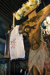Gospod na Krstu. Our Lord on Cross (Tanjica Perovic) Tags: church serbia tradition orthodox crucifixion crkva srbija serbian pravoslavie pirot serbianorthodoxchurch  pravoslavni   srpskapravoslavnacrkva   hramrozdestvahristovogpirot nativitychurchpirotserbia pirotsrbija  tanjicaperovicphotography  staracrkvapirotblogspotcom greatfirday staracrkvapirotsrbija fotografijepirota