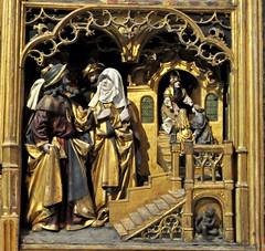 Uppsala (Suecia). Catedral. Retablo (santi abella) Tags: uppsala suecia retablos catedraldeuppsala