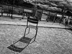 IMG_6341-2 (Sahsiroh) Tags: bw paris france tower chair empty eiffel